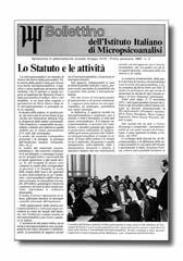 Bollettino dell' Istituto Italiano di Micropsicoanalisi